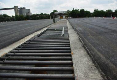Platforma de pastrare a sfeclei de zahar cu Hidrotransportor pentru fabrica de zahar Agrana SA Roman