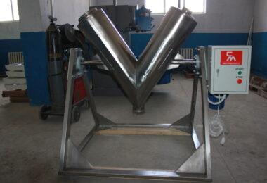 Mixer de tip V pentru Fabrica de Plante SRL
